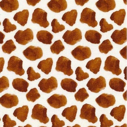 Silo Cow Skin Print Farm Animals Dairy Cows Spots Cotton Fabric