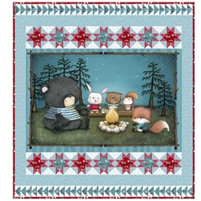 Picture of Quilting Treasures Campfire Friends Friendship Song 48x54 Quilt Kit