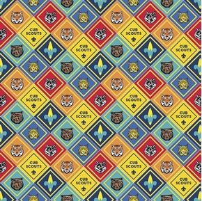 Picture of Cub Scouts Badges Scouting Badge Boy Scout Patches Cotton Fabric