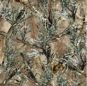 True Timber Outdoors Camo MC2 Brown Camouflage Hunting Cotton Fabric