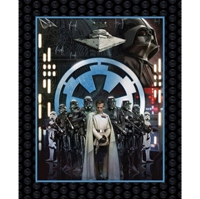 Star Wars Movie Rogue One Dark Side Villains Large Cotton Fabric Panel