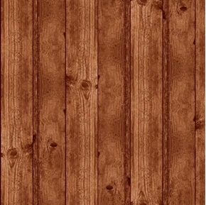 Deer Meadow Wood Texture Barnwood Wooden Planks Brown Cotton Fabric