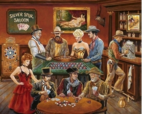 The Gamblers Old Western Saloon Casino