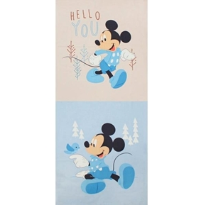 Disney Mickey Mouse Little Meadow Pillow Panels