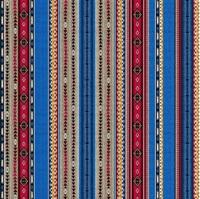Picture of Dreamweaver Southwest Aztec Native American Stripe Cotton Fabric