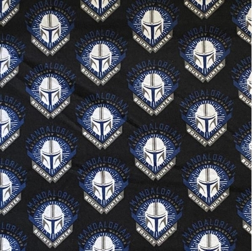 Flannel Star Wars The Mandalorian Legendary Warrior Cotton Fabric