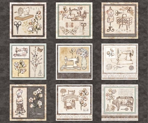 Cotton Couture Sewing Patches Seamstress Machines Cotton Fabric Panel