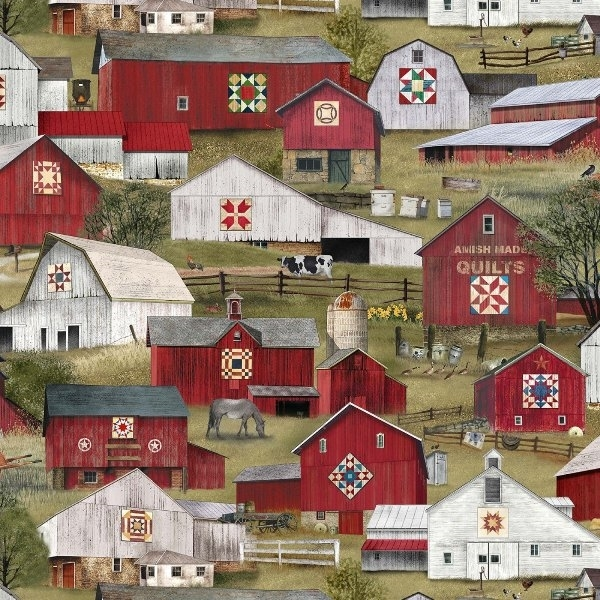 Picture for category Asian - Amish Fabrics