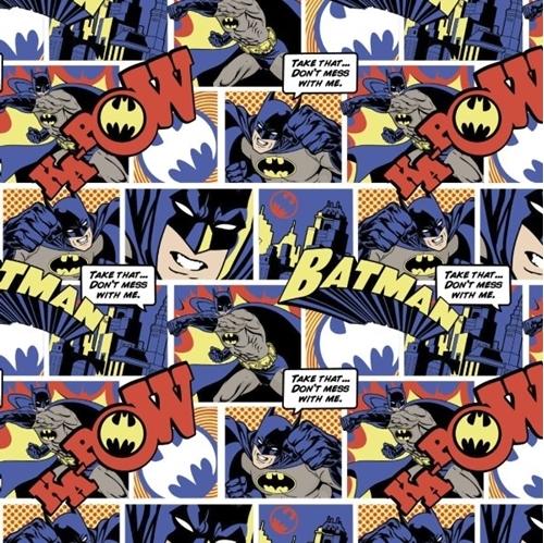 Colored comic strip