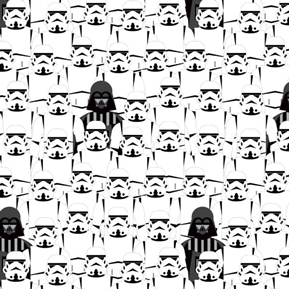 Star Wars Stacked Troopers Rogue One Storm Trooper Cotton Fabric