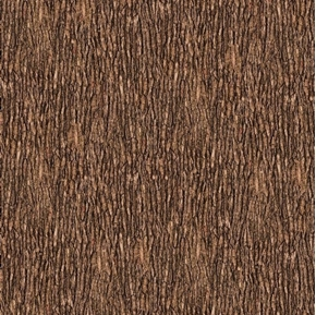 Open Air Bark Tree Bark Brown Cotton Fabric