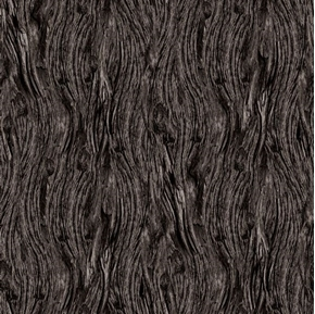 Open Air Driftwood Weathered Charcoal Gray Wood Cotton Fabric