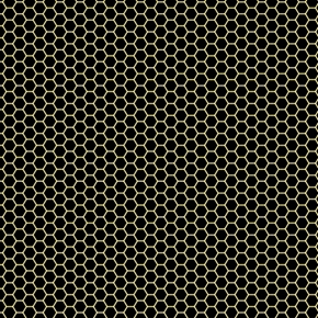 All the Buzz Geo Honeycomb Pattern Ink and Arrow Black Cotton Fabric