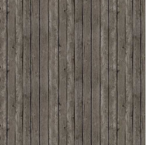 Landscape Medley Dark Gray Barn Siding Wood Planks Cotton Fabric