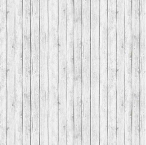 Landscape Medley Rustic White Barn Siding Wood Planks Cotton Fabric