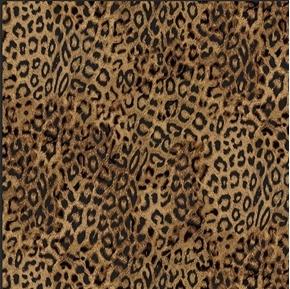 Leopard Print Wild Animal Leopard Skin Pattern Cotton Fabric