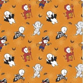Halloween Character II Casper Costume Fun Friendly Ghost Cotton Fabric