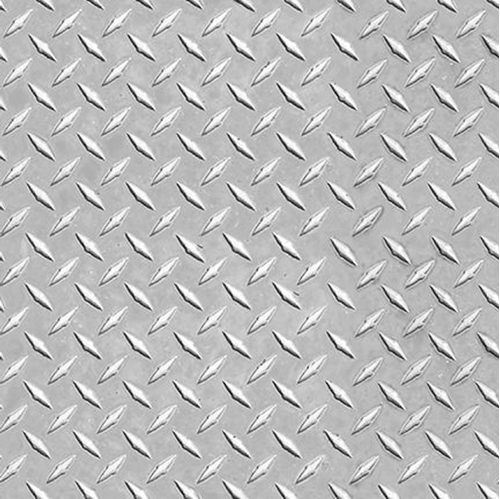 Keep on Truckin' Metal Texture Mud Flap Guard Gunmetal Cotton Fabric